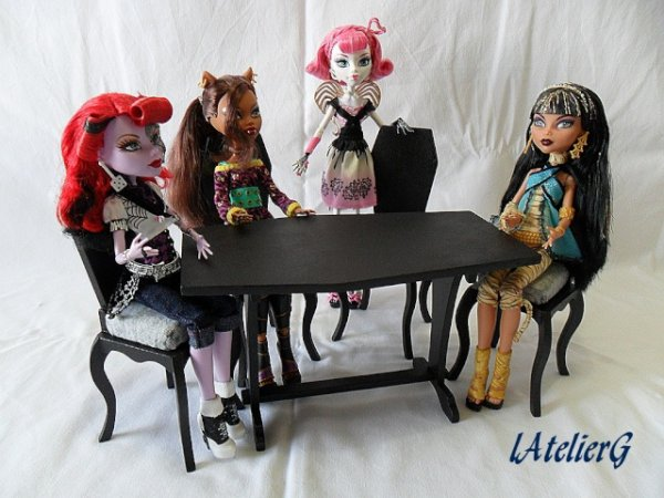 Meubles pour Monster High