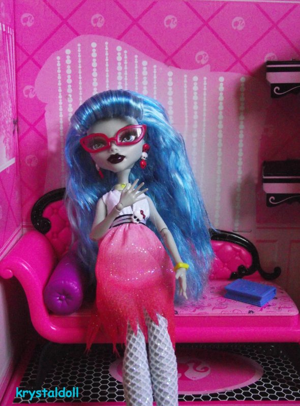 Ma collection Monster High : relooking