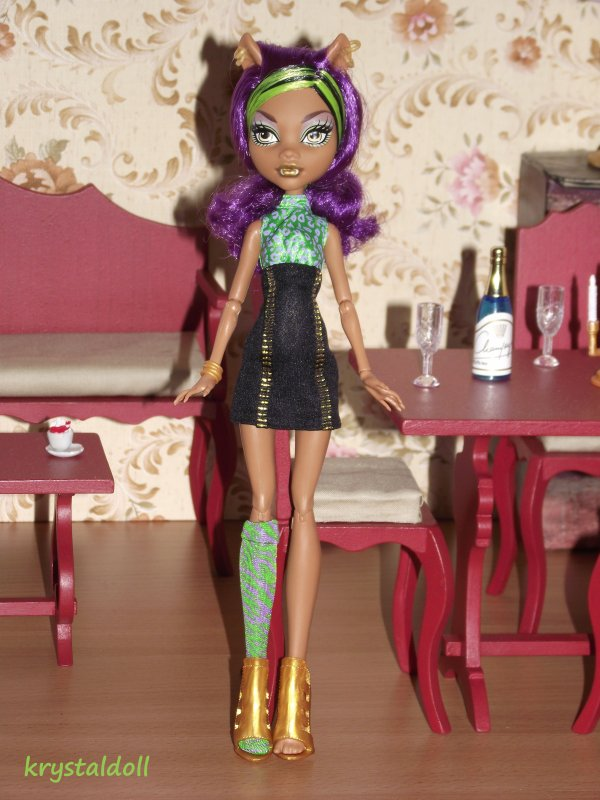Ma collection Monster High : une nouvelle Clawdeen