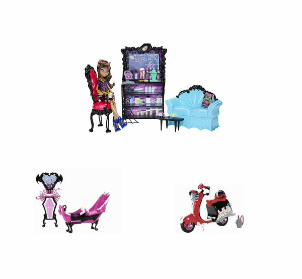 Les Monster High : les futurs sorties 1