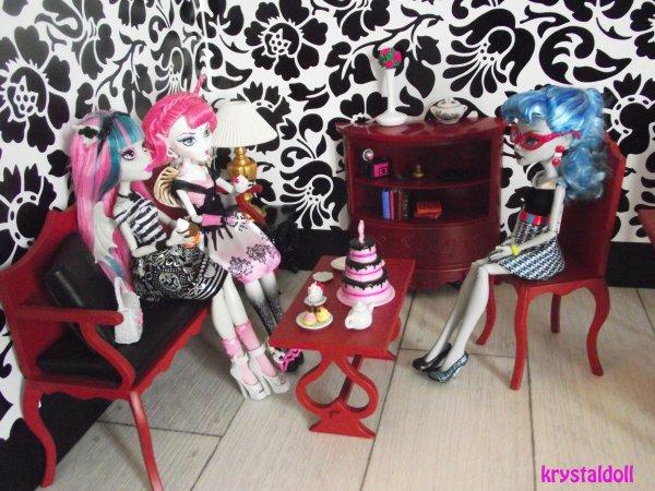 Mes Monster High : nouvelles poupées et nouveaux décors