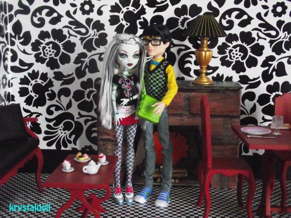 Mes Monster High : arrivée de Jackson Jekyll
