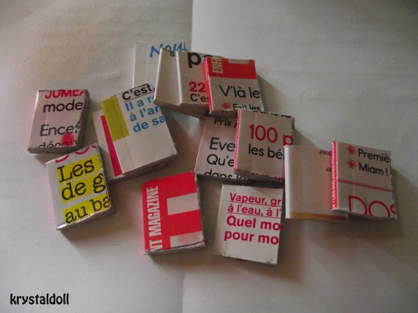 Mes livres miniatures