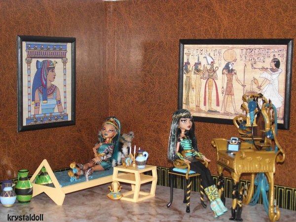 Le boudoir de Nefera et Cléo