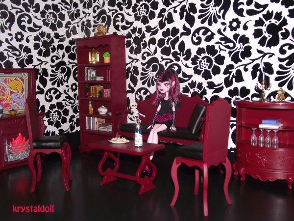 Salon pour Monster High