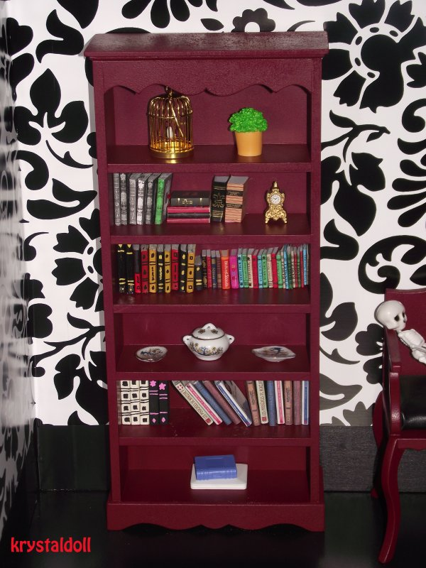 Bibliothèque pour mes Monster High