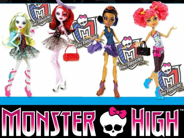 Les Monster High : futurs sorties