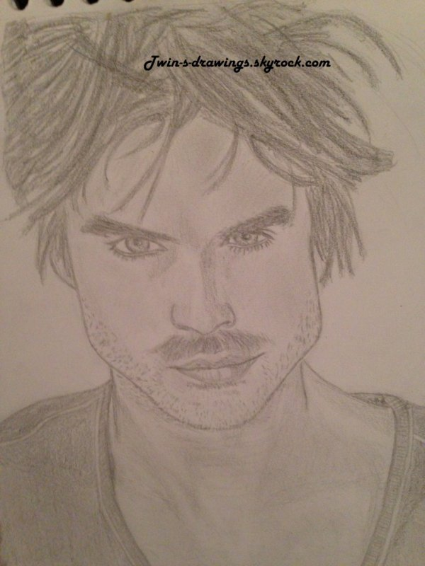 Damon Salvatore by Ever :)
