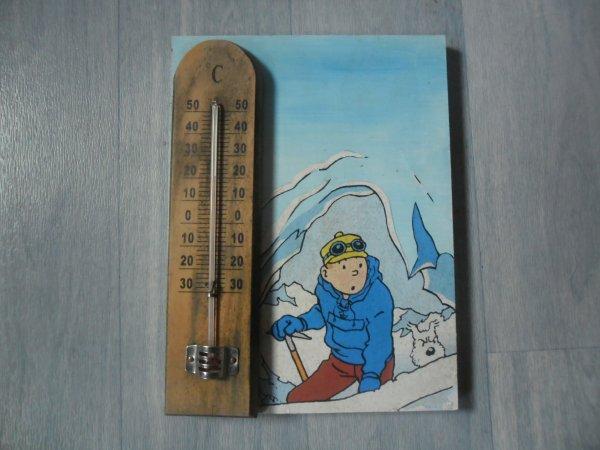 Thermomètre Tintin au Tibet
