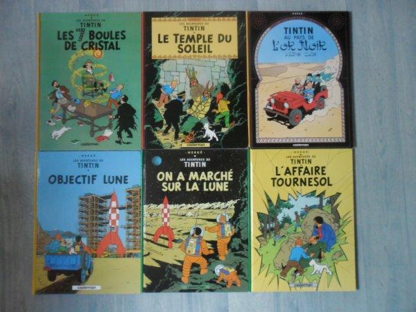 Albums Tintin