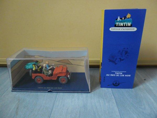 En voiture Tintin