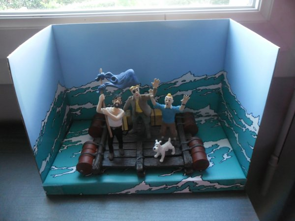 Coffret couverture Tintin