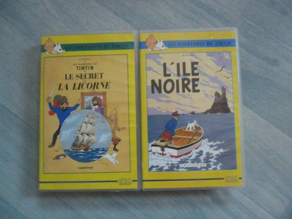 Cassettes Tintin