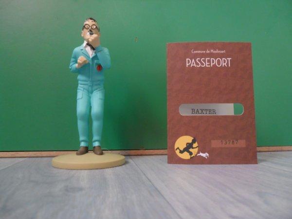 Figurine officielle: Baxter le directeur de la base
