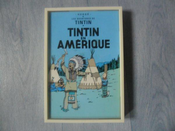 Carte postale Tintin