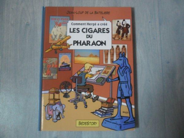 Comment Hergé a créé Les Cigares du Pharaon