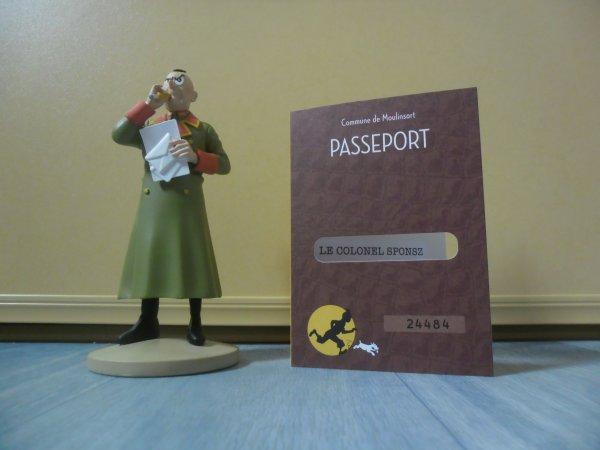 Figurine officielle: Le colonel Sponsz contrarié