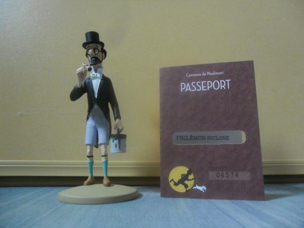 Figurine officielle: Le professeur Siclone au pinceau