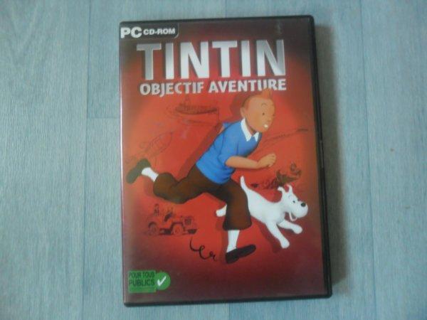 Jeu Tintin objectif aventure