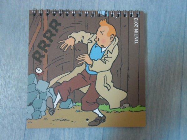 Calendrier Tintin petit format