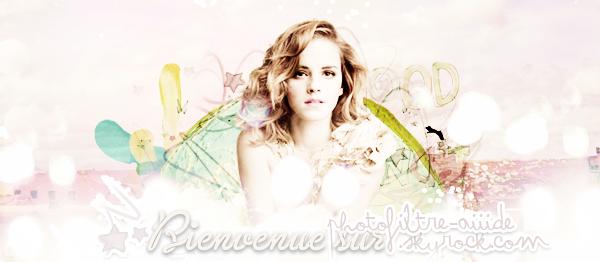 ♥ Bienvenue sur mon blog'