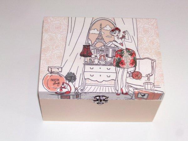boîte à bijoux femme original