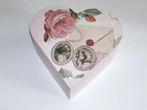 boîte à bijoux c½ur décorative