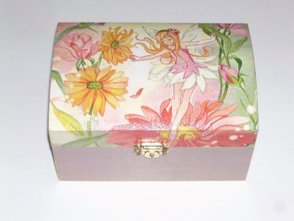 boîte à bijoux fée original