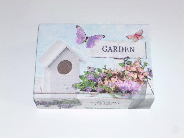 boîte fleur décorative