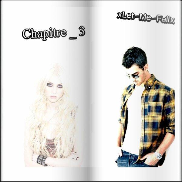"""Chapitre 3    """" x Let - Me - Fall x """"       Bonne Lecture ♫"""