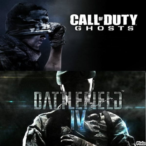 BF4 vs code ghosts