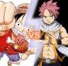 Luffy vs Natsu ! Qui vas gagnée entre les deux ?