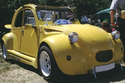 RECHERCHE PHOTO DE MA 2CV CUSTOM