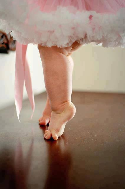 Baby Ballerina Feet...So Cute <3