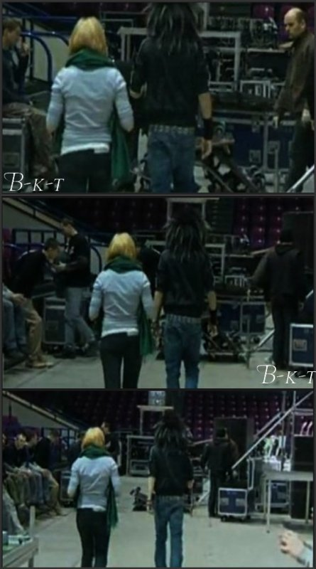 Natalie Franz & Bill Kaulitz Backstages 2007