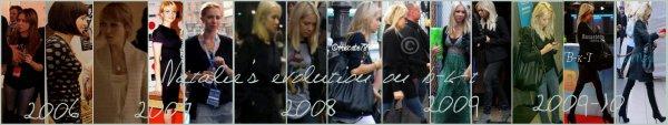 Natalie Franz Style evolution