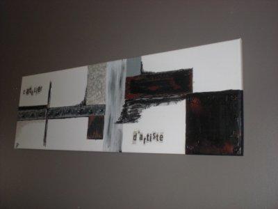 """deux tableaux  """"esprit loft """" le premier ...."""