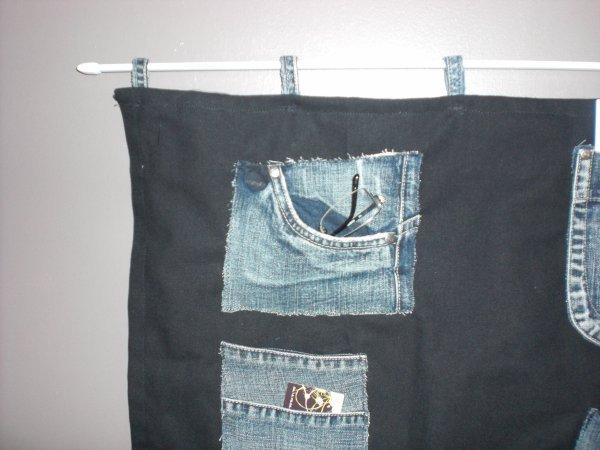 vide poches en jean