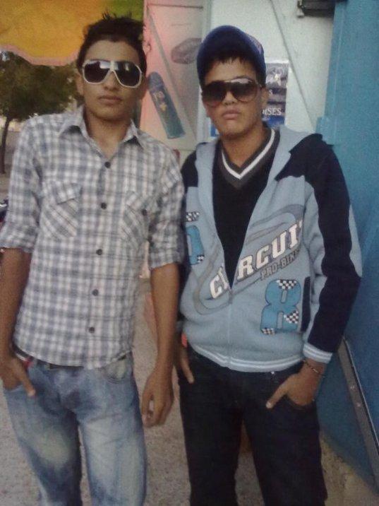 moi et mon amie muskhan