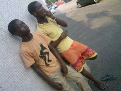 Abel  De Babi  et  Oussou  Gabanna Le Saoudien   mes pote du  quartier
