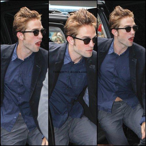 15.08.12 = Robert Pattinson à Good Morning America - New York.