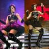 - Rihanna en live !  - Rihanna est connue pour ses titres et son style incroyable et déjanté. Mais est-elle à la hauteur pour des lives magiques ? La réponse est oui. Rihanna est juste incroyable sur scène, elle développe une telle énergie sur scène pour plaire à ses fans et leurs faire passer un bon moment sur ses hits ! Toujours en tenue qui laisse apparaître ses formes, Rihanna fait vibrer la salle. J'en ai la preuve, je suis aller la voir en concert à Lyon, le 20 avril 2010 et irais la voir une deuxième fois le 19 octobre 2011 car cette femme est la plus proche de ses fans et met une énergie énorme pour que les fans passent le meilleur jour de leurs vies ! Enjoy !  - & toi, as-tu déjà vu Rihanna en concert ? Si oui, quel est ton commentaire sur la soirée ? Matte des vidéos de ses lives en cliquant sur les montages !