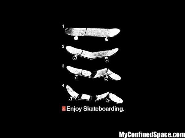 La vie d'un skate ! :/