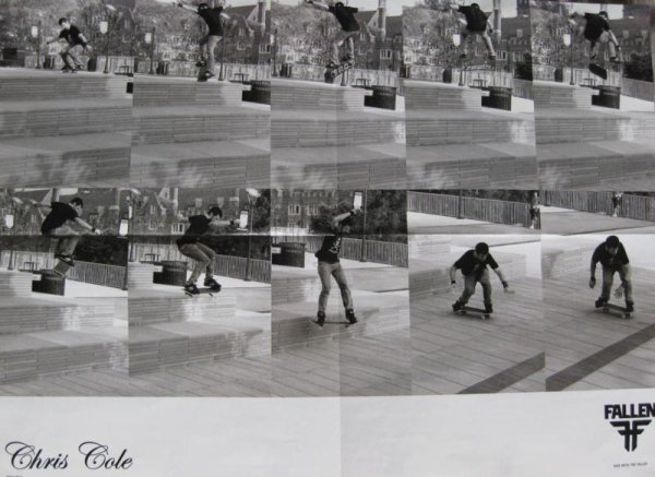 Chris Cole, Nollie 360 Heelflip