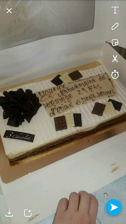 3 chocolat versaillè anniv dmariage des parents 29 a.... magnifique