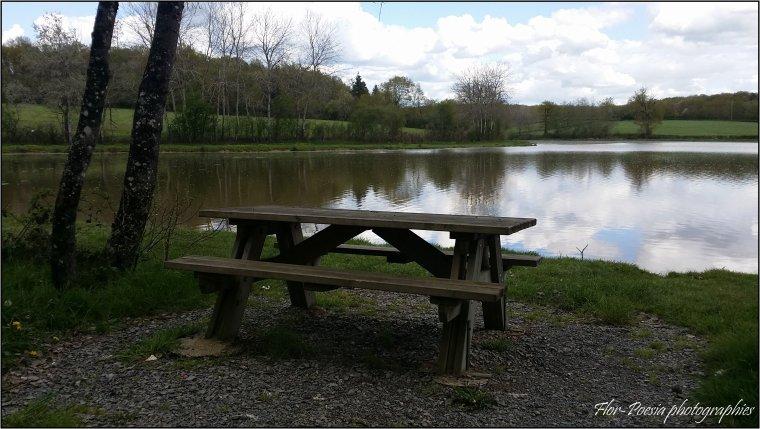 L'étang de la boue ( Situé à Remilly entre Luzy et Decize, dans le département de la Nièvre )