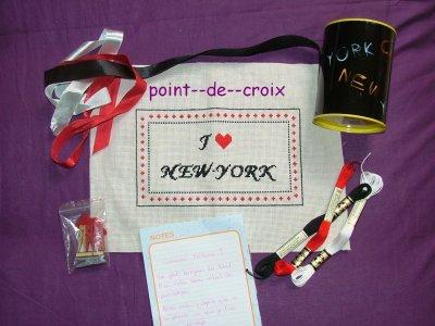 échange New york recu