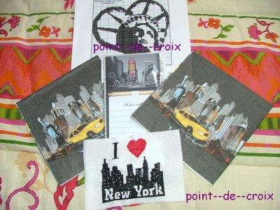 échange New York ce que j'ai envoyé
