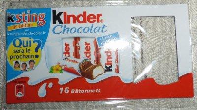 "MAGNET ""KINDER CHOCOLAT"""
