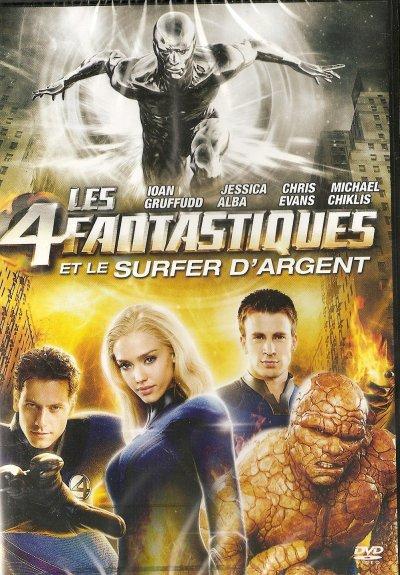 """DVD """"LES 4 FANTASTIQUES ET LE SURFER D'ARGENT"""""""